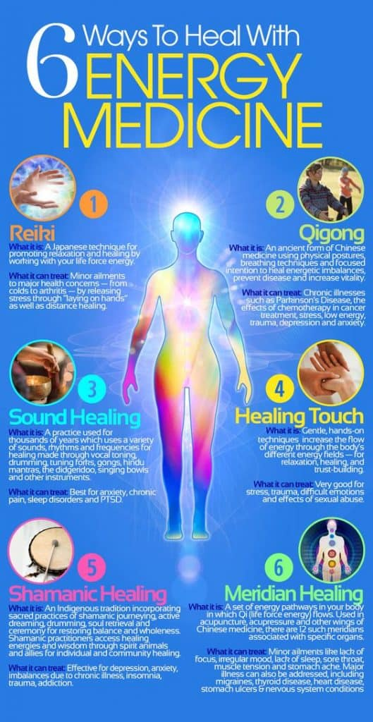 6 ways to heal with energy healing