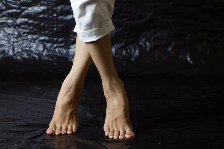 feet position - what is your chakra nature
