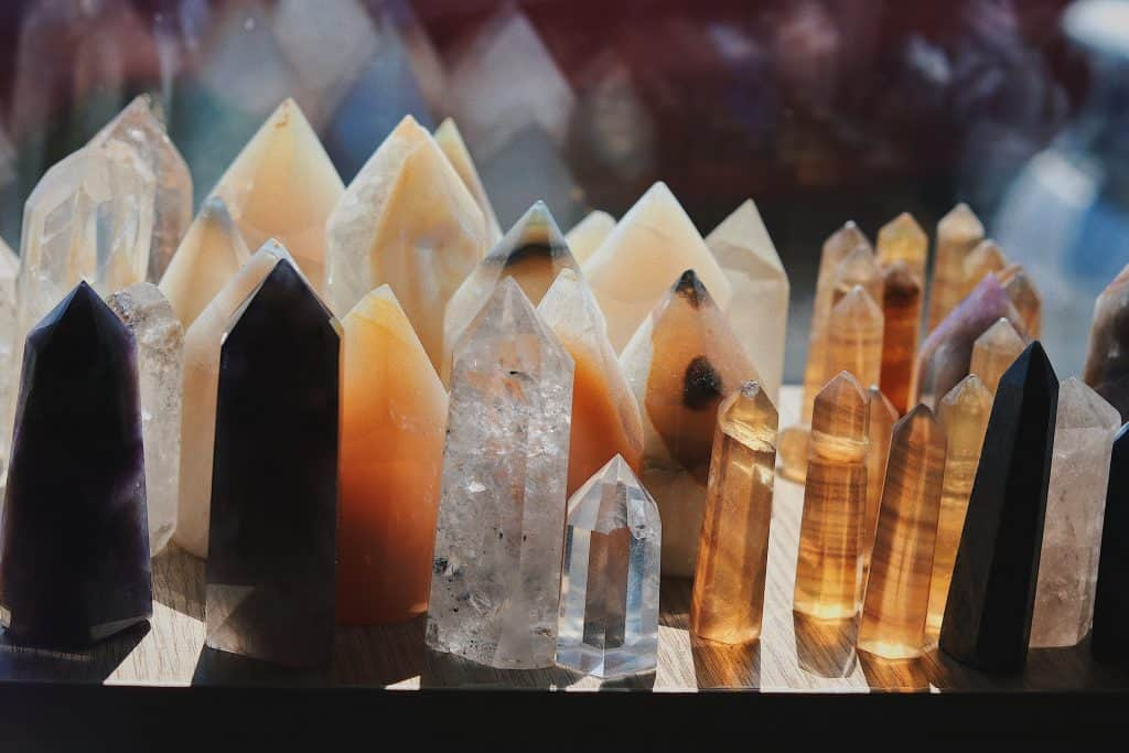 energy healing crystals with reiki